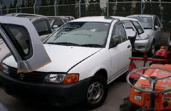 Nissan AD продажа половинки из японии с автоаукионов на запчасти