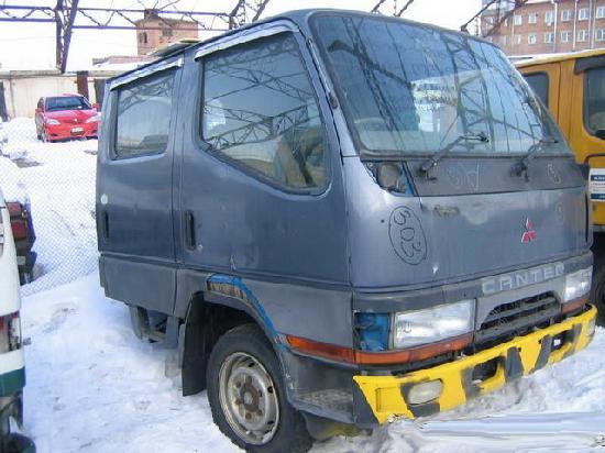 Mitsubishi canter2 продажа половинки из японии с автоаукионов на запчасти
