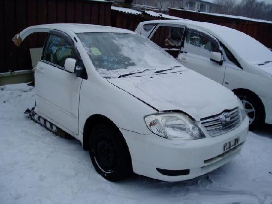 Toyota corolla1  продажа половинки из японии с автоаукионов на запчасти