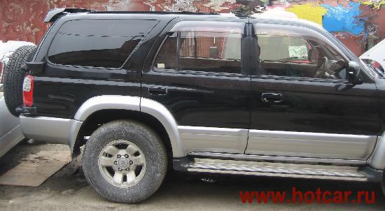 Toyota Hilux Surf продажа японских  авто с автоаукционов из Японии Владивотсока, Москва, Челябинск, Новосибирск на заказ